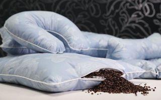 Подушка из гречневой лузги: польза ортопедической принадлежности