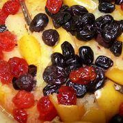 Десерт из тыквы, запеченной в духовке