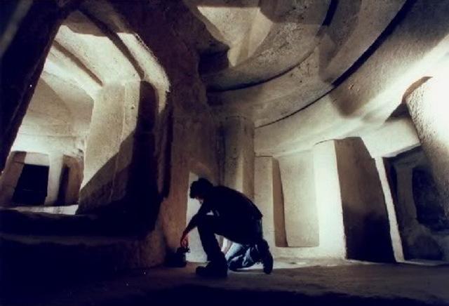 Памятник древней культуры Хал - Сафлиени