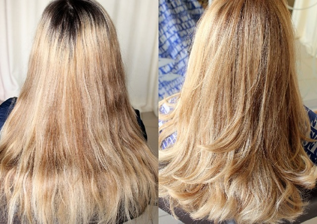 Калифорнийское окрашивание волос: простая техника мелирования