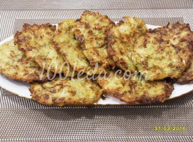 Оладьи из белокочанной капусты с манкой