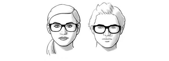 Как подобрать правильно очки для разных типов лица