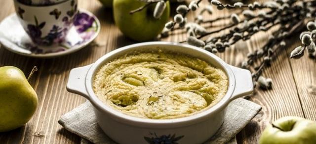 Итальянский омлет фриттата с овощами