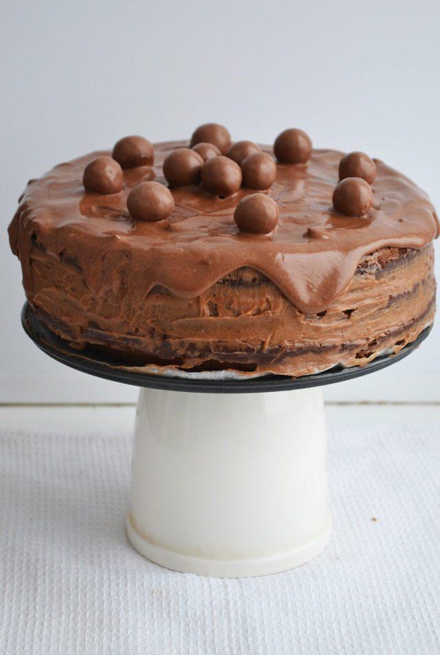 Классический торт Прага со сгущенкой в домашних условиях
