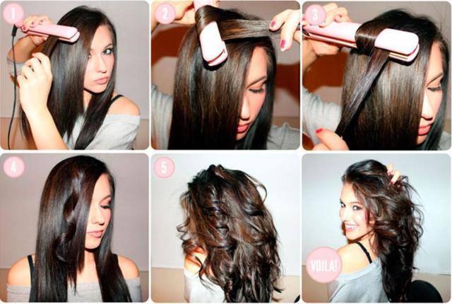Как утюжком накрутить волосы: секреты создания изящных прядей