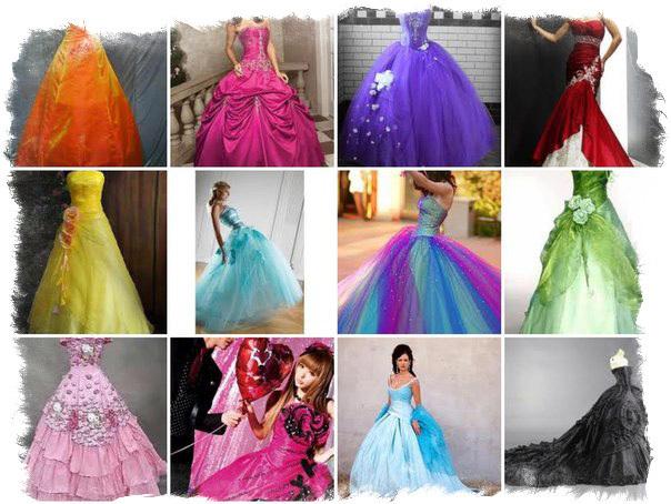 Цвет свадебного платья: значимые народные приметы