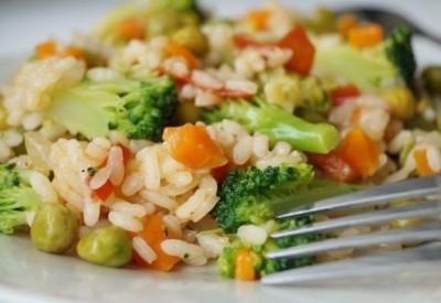 Ризотто с овощами в домашних условиях