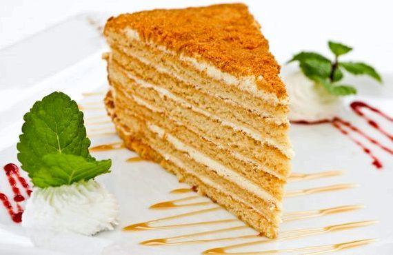 Классический торт Медовик со сгущенкой