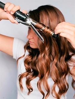 Парикмахерская на дому: как правильно накрутить волосы на плойку