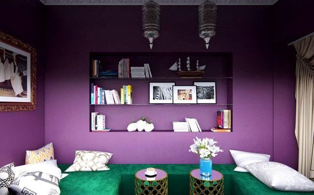 Цветовые сочетания в интерьере: секреты гармонии
