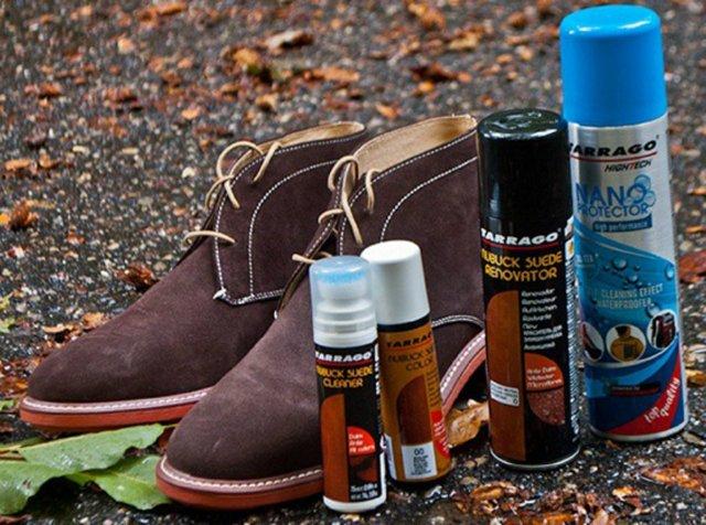Правильный уход за замшевой обувью