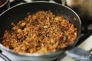Перец фаршированный мясом и гречкой