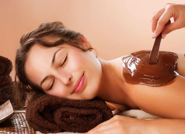 Шоколадное обертывание для похудения