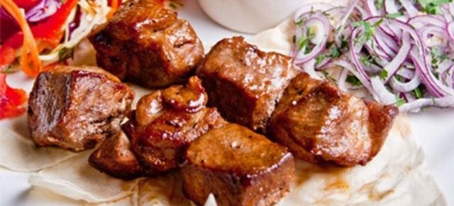 Шашлык в духовке из свинины в рукаве для запекания