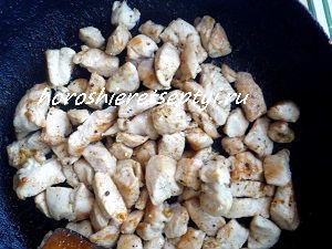 Рисовая запеканка с курицей в духовке