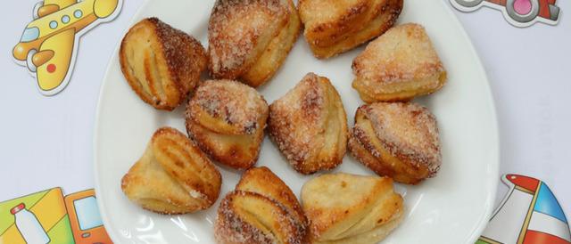 Нежное творожное печенье «Гусиные лапки»