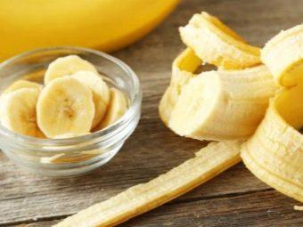 Коктейль из кефира и банана с ягодным пюре