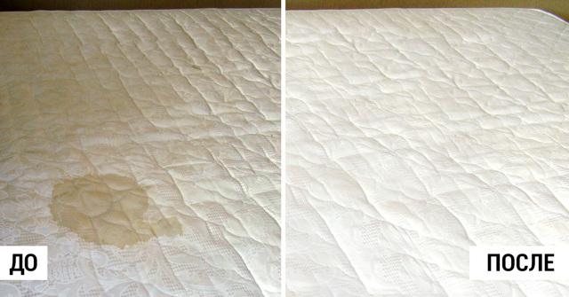 Уход за матрасом: как почистить в домашних условиях