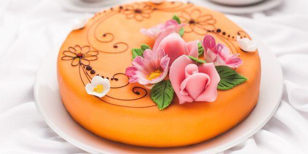 Торт с мастикой своми руками