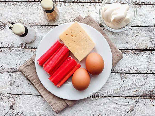 Аппетитные котлеты из крабовых палочек с сыром