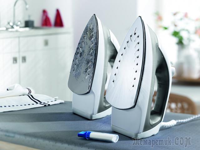 Чем почистить утюг в домашних условиях: секреты умелых хозяек