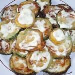 Жареная цветная капуста с грибами на сковороде