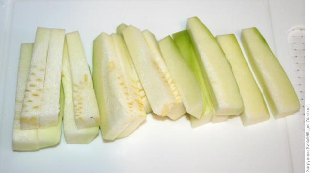 Кабачки в панировке, запеченные в духовке